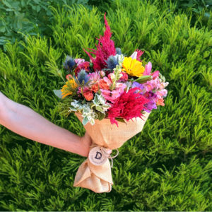 Large colourful bouquet of 20 stems