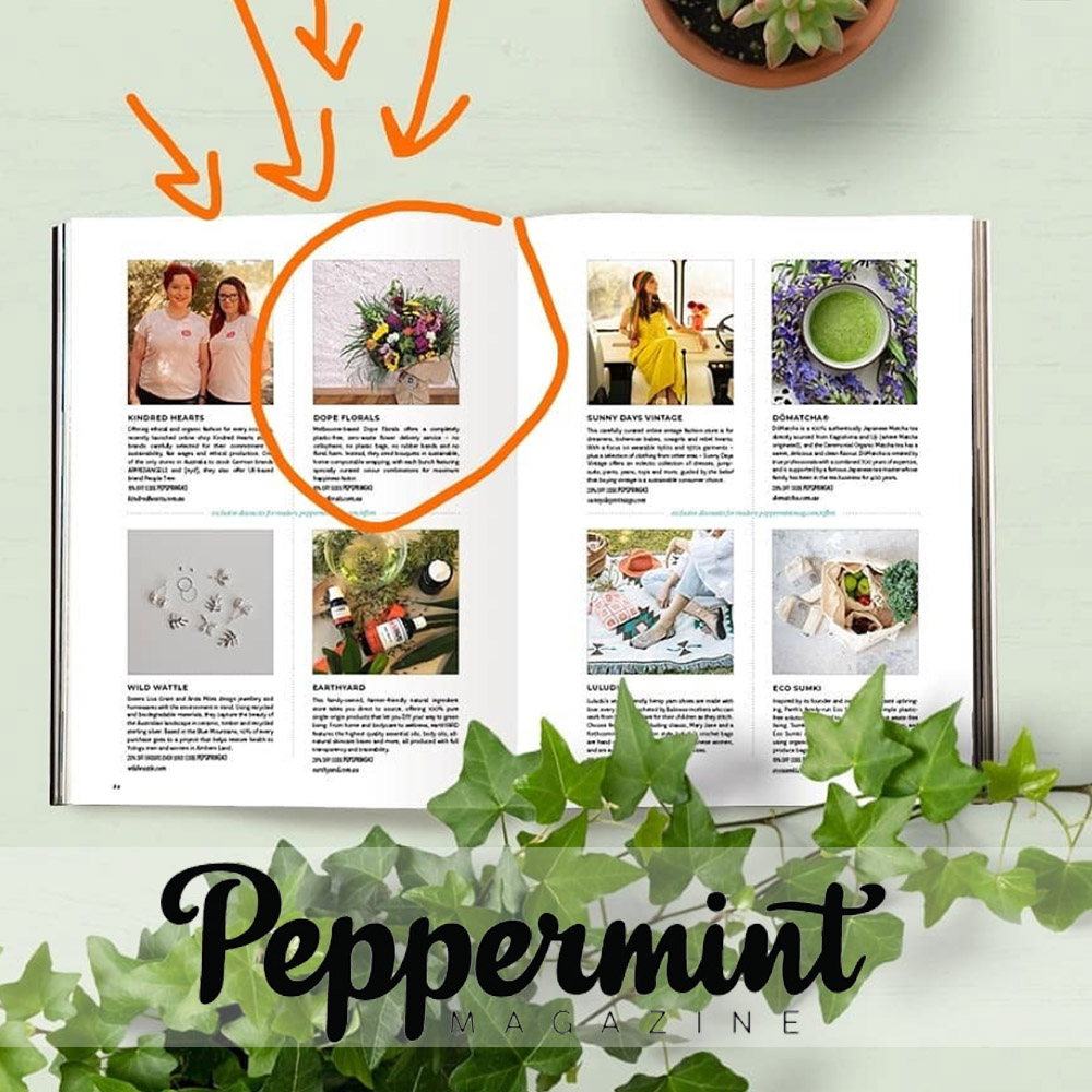 Photo of Peppermint Magazine page